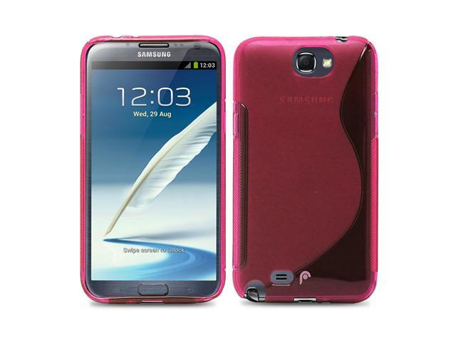 Fosmon DURA S Series TPU Case for Samsung Galaxy Note 2 II / N7100 - Pink