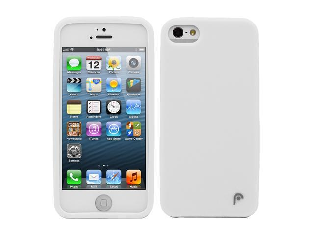 Fosmon JEL Series Silicone Case for Apple iPhone 5 / 5S - White