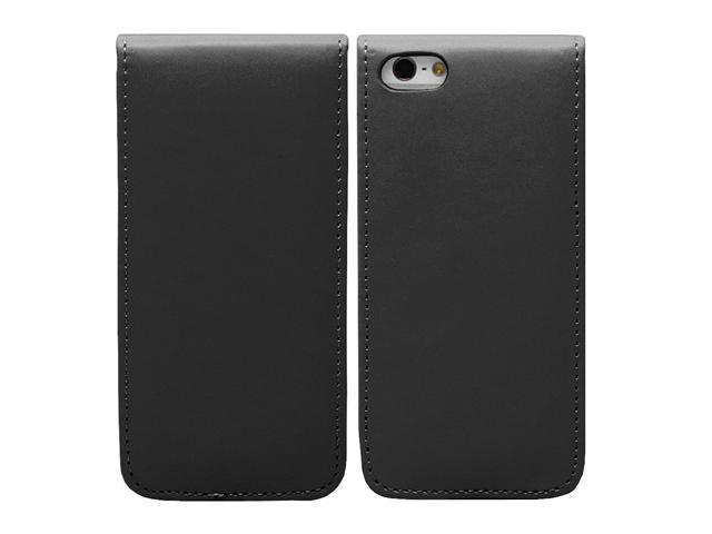 Fosmon FLY Series Flip Leather Case for Apple Iphone 5 - Black