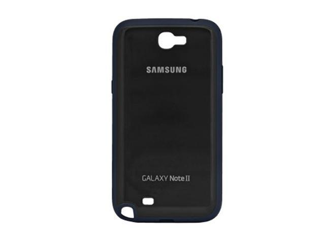 Samsung Protective Bumper Cover Plus Case for Galaxy Note 2 - Black