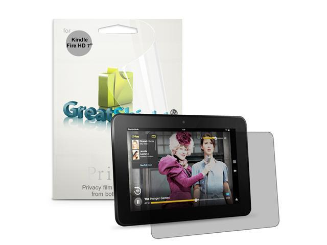 """GreatShield Ultra Privacy (Landscape) Screen Protector Film for Amazon Kindle Fire HD 7"""" (1-Pack)"""