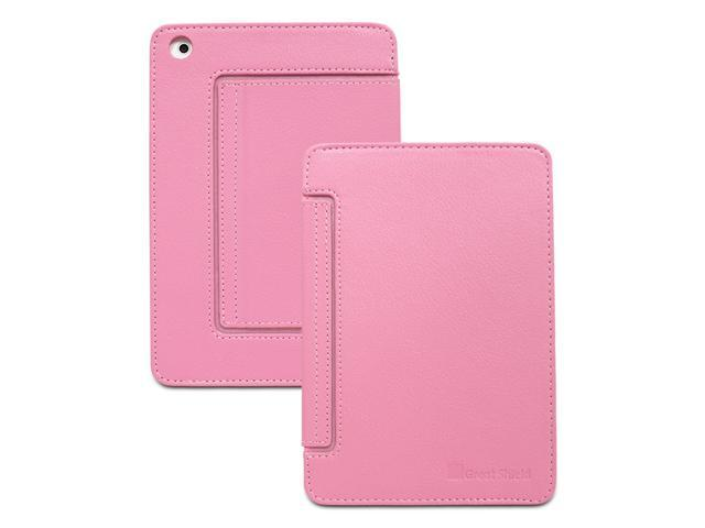 GreatShield VANTAGE Series Card-Holder Leather Case w/ Stand for Apple iPad Mini - Pink