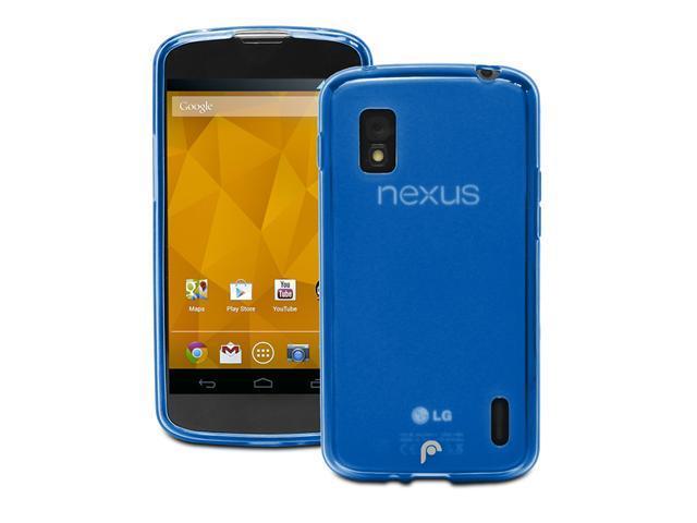 Fosmon DURA FRO Series TPU case for Google Nexus 4 / LG Nexus 4 - Frost Blue