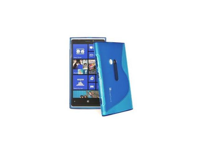 GreatShield Guardian S Series Flexible TPU Case Cover for Nokia Lumia 920 - Blue