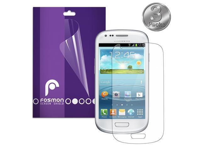 Fosmon Screen Protector for Samsung Galaxy S IV Mini / S4 Mini (Anti-Glare) - 3 Pack