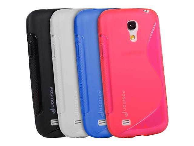 Fosmon DURA S Series TPU Case for Samsung Galaxy S4 mini / GT-I9190 / GT-I9195 - Black