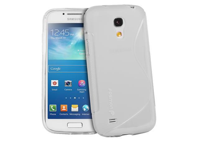 Fosmon DURA S Series TPU Case for Samsung Galaxy S4 mini / GT-I9190 / GT-I9195 - Clear