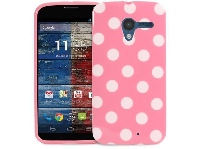 Fosmon DURA-POLKA Series Polka Dot Case Protective Cover for Motorola Moto X