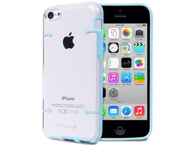 Fosmon SLIM-BUMPER Series Hybrid Bumper PC + TPU Case for Apple iPhone 5c