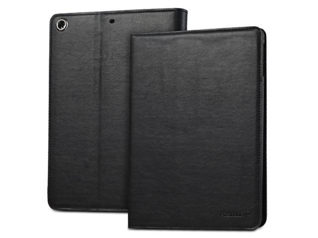 Fosmon OPUS-CLASSIC Series Leather Folio Stand Case with Sleep / Wake Function for Apple iPad Air 9.7