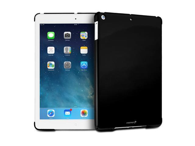 "Fosmon SLIM Series Smart Cover Companion Case for Apple iPad Air 9.7"" Tablet - Solid Black"