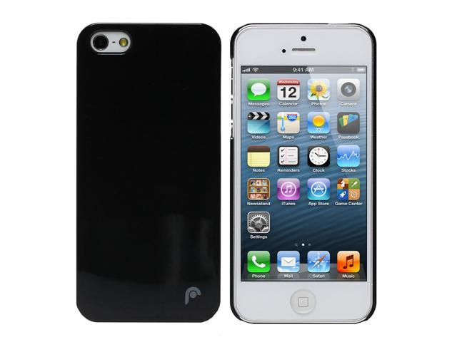 Fosmon SLIM Series Ultra Thin Crystal Case for Apple iPhone 5 / 5S - Transparent Black