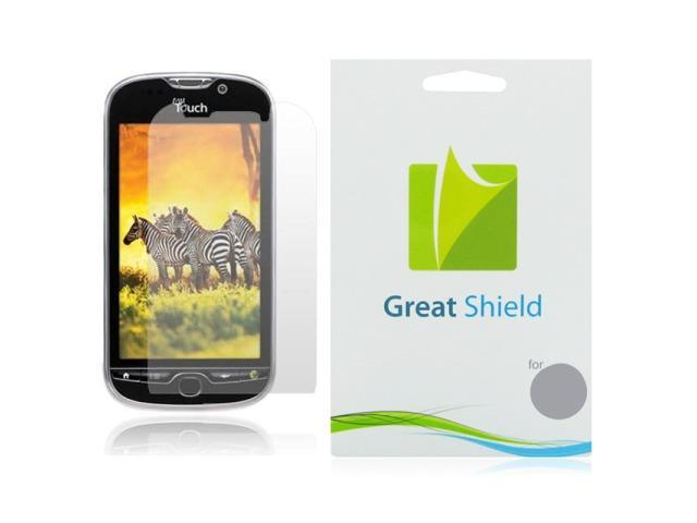 GreatShield 3 Pack Ultra Smooth Clear Screen Protector for T-Mobile myTouch 4G