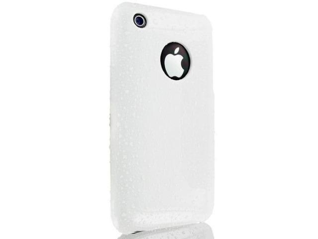 DragonFly Wet Shield Polycarbonate Crystal Hard Case for Apple iPhone 3G / 3GS (White)