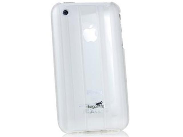 DragonFly Parallel Shield Polycarbonate Crystal Hard Case for Apple iPhone 3G / 3GS (Clear)