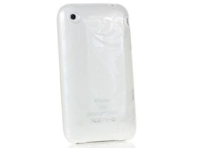 DragonFly The France Silicone Skin Case for Apple iPhone 3G / 3GS (Clear)