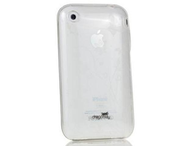 DragonFly The Meridian Silicone Skin Case for Apple iPhone 3G / 3GS (Clear)