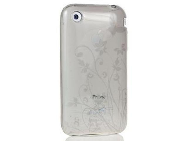 DragonFly The Meridian Silicone Skin Case for Apple iPhone 3G / 3GS (Smoke)