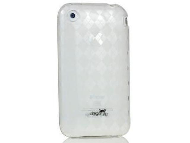 DragonFly The Britain Silicone Skin Case for Apple iPhone 3G / 3GS (Clear)