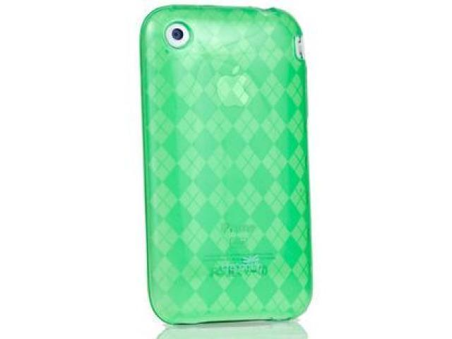 DragonFly The Britain Silicone Skin Case for Apple iPhone 3G / 3GS (Green)