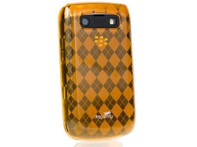 DragonFly The Britain Silicone Skin Case for Blackberry Bold 9700 (Orange)