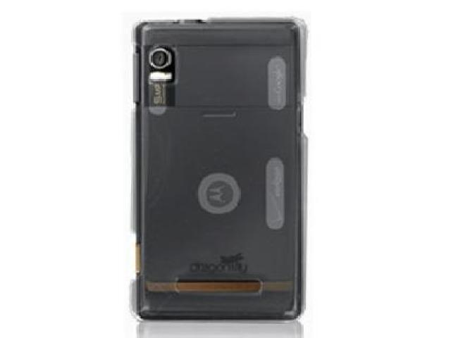 DragonFly Phantom Crystal Clear Hard Case for Motorola Droid A855