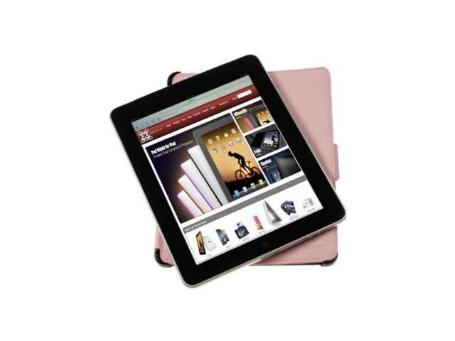 XGear Live Folio -Leather Folding Case For Apple iPad 1st Gen (Pink)