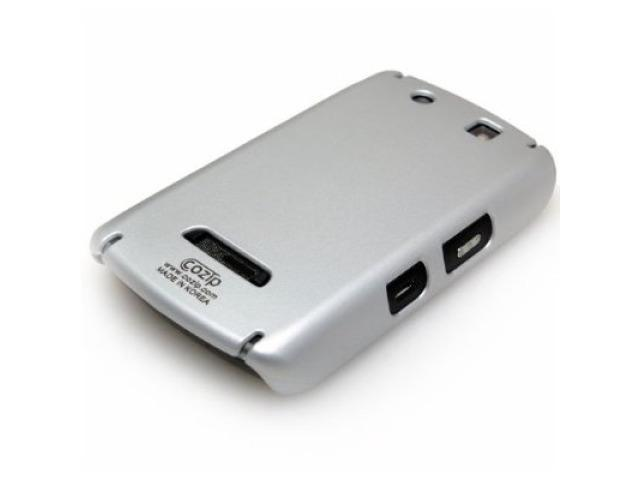 Cozip Soft Polycarbonate Slim Case for Blackberry Storm 9530 (Silver)