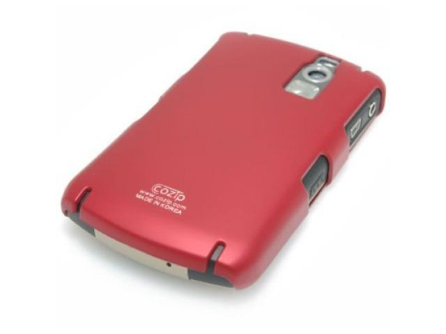 Cozip Soft Polycarbonate Slim Case for Blackberry 8300 Curve (Red)