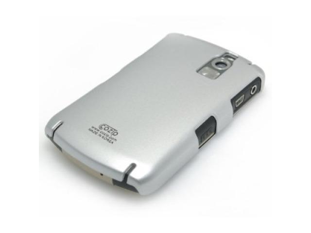 Cozip Soft Polycarbonate Slim Case for Blackberry 8300 Curve (Silver)