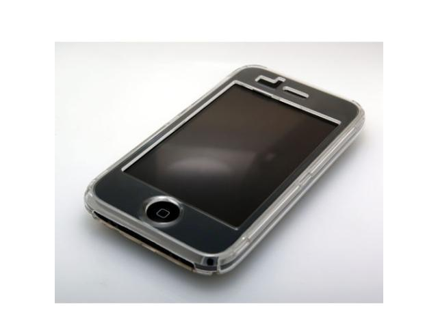 Cozip Soft Polycarbonate Slim Crystal Case for Apple iPhone 3G / 3GS (Clear)