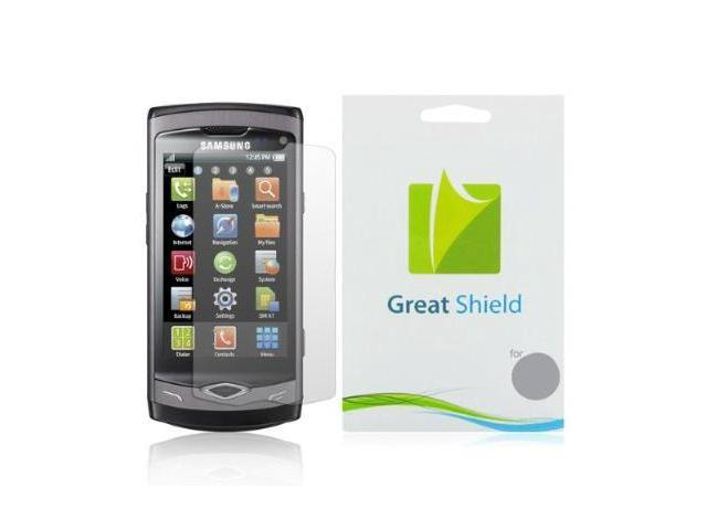 GreatShield Ultra Anti-Glare (Matte) Clear Screen Protector Film for Samsung Wave II 2 GT-S8530 (3 Pack)