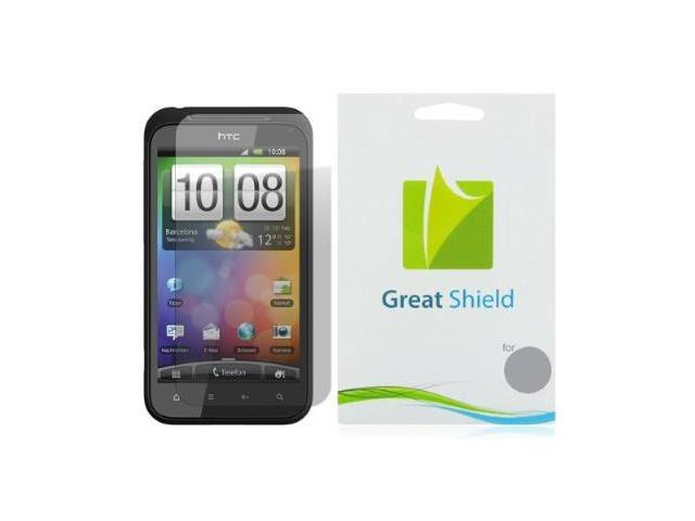 GreatShield Ultra Smooth Clear Screen Protector Film for HTC Incredible S (3 Pack)