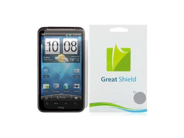 GreatShield Ultra Smooth Clear Screen Protector Film for HTC Inspire 4G / Desire HD (3 Pack)