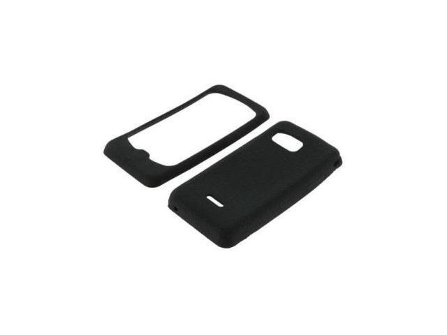 Fosmon Soft Silicone Case fits Samsung Moment M900- Black