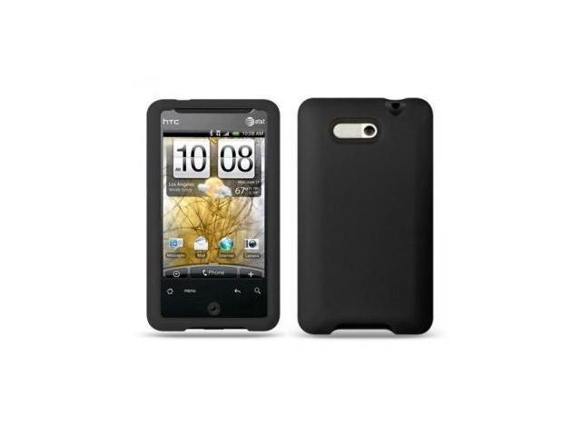 Fosmon Silicone Skin Case for HTC Aria (Black)