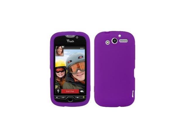 Fosmon Soft Silicone Case fits T-Mobile myTouch 4G- Purple