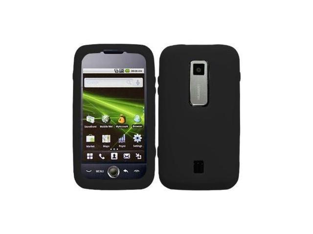 Fosmon Soft Silicone Case fits Huawei Ascend M860- Black