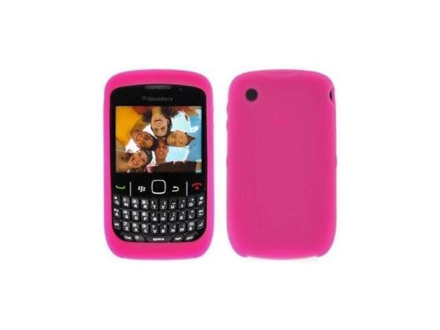 Fosmon Soft Silicone Case fits BlackBerry Curve 8520/ 8530- Pink