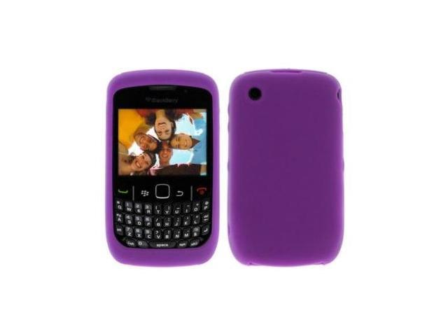 Fosmon Soft Silicone Case fits BlackBerry Curve 8520/ 8530- Purple
