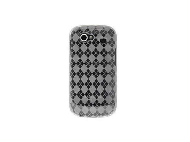 Fosmon Argyle Design TPU Case fits Google Nexus S- Clear