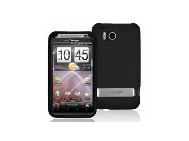 Fosmon Soft Silicone Case fits HTC Thunderbolt - Black
