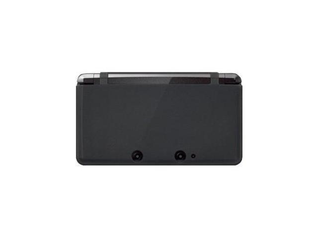 Fosmon Soft Silicone Case fits Nintendo 3DS- Black