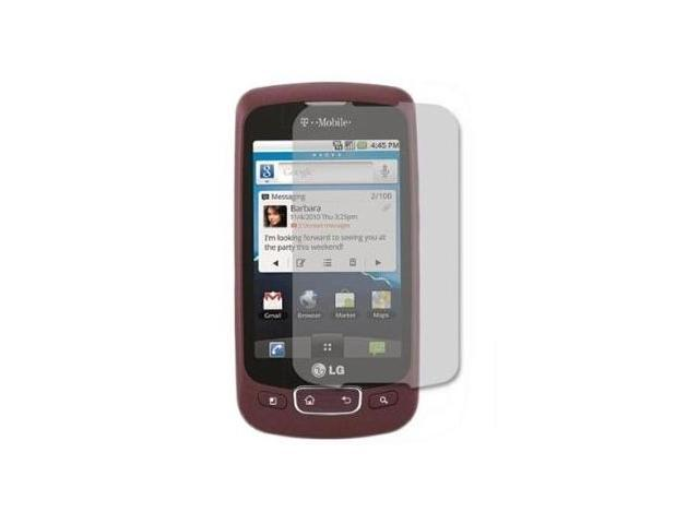 Fosmon Premium Quality Crystal Clear Screen Protector for LG Optimus T