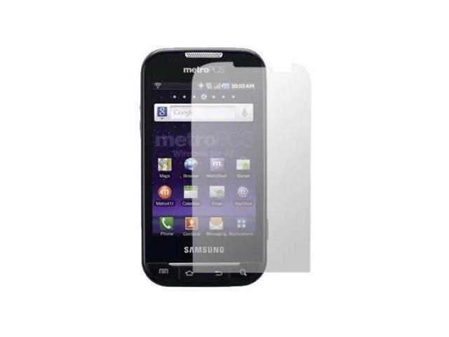 Fosmon 3 Pack Premium Quality Crystal Clear Screen Protector for Samsung Galaxy Indulge R910