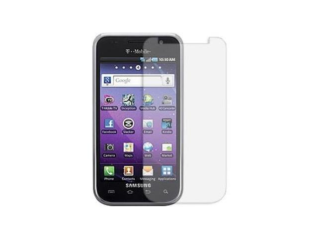 Fosmon 3 Pack Premium Quality Crystal Clear Screen Protector for Samsung Galaxy S 4G