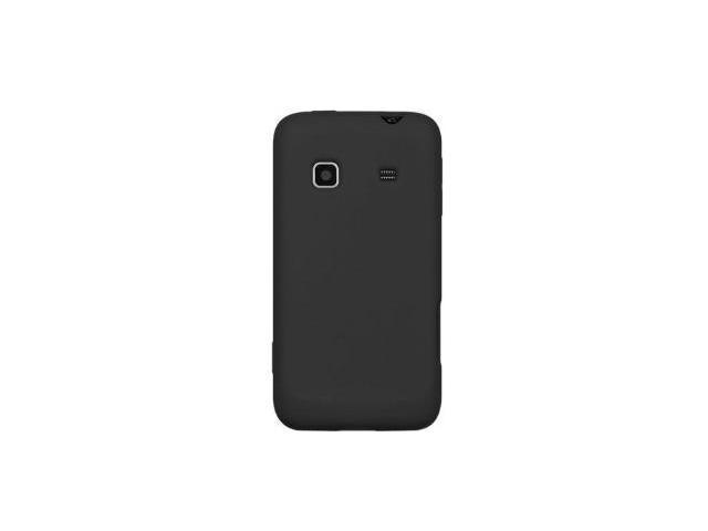 Fosmon Silicone Skin for Samsung Galaxy Prevail M820 (Black)