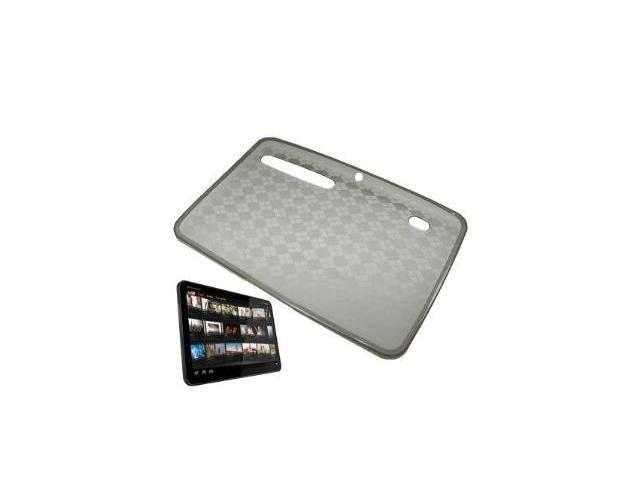 Fosmon TPU Case for Motorola Xoom (Smoke Checker)