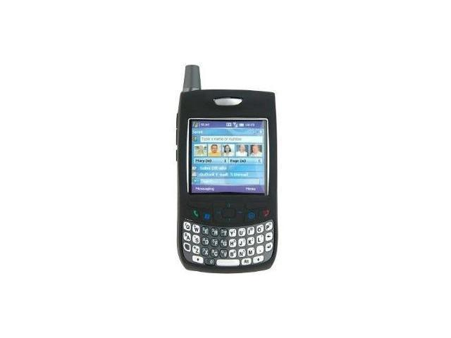 Fosmon Silicone Skin for Palm Treo 650 / 700w / 700wx / 700p (Black)