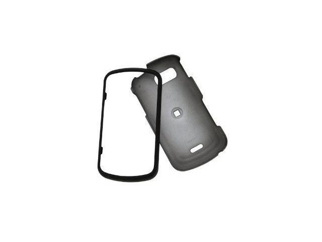 Fosmon Rubberized Hardshell Case for Samsung Moment M900 (Black)